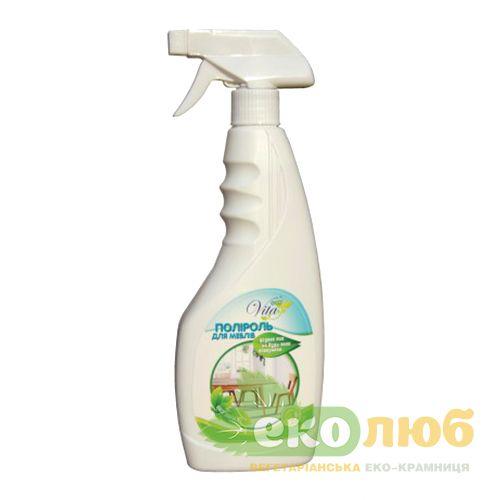 Полироль для мебели Без запаха EcoVita