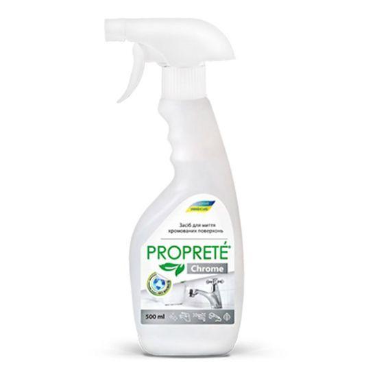 Средство для мытья хромированных поверхностей Chrome Proprete